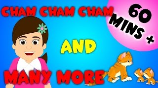 Cham Cham Cham And Many More | 60 Minutes + Compilation | Urdu Rhymes Collection