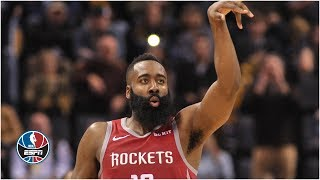 James Harden earns his second consecutive triple-double in Rockets' win | NBA Highlights
