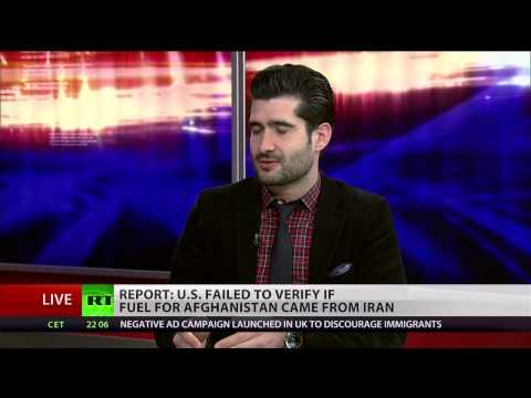 US buys Iranian oil for troops in Afghanistan
