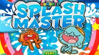 The Amazing World Of Gumball Gameplay Episode Splash Master Game - Best Kid Games