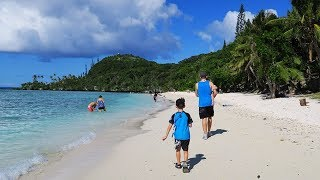 CRUISING DAY 4 LIFOU, NEW CALEDONIA on P&O Pacific Dawn Travel Vlog