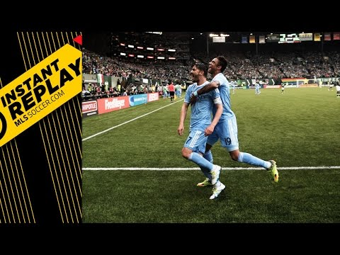 INSTANT REPLAY: Was there a hand ball on David Villa's goal vs. Portland?