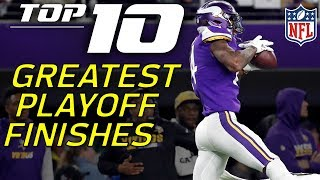 Top 10 NFL Playoffs Finishes of All-Time | NFL Highlights