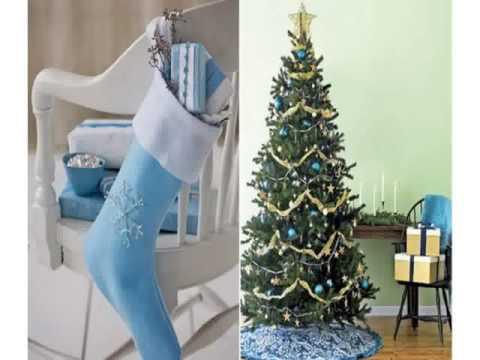 Blaue weihnachtsdekoration