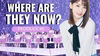 PRODUCE 48: where are they now?
