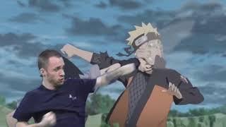 Squeezie VS Naruto [FOND VERT] #SqueezieFondVert