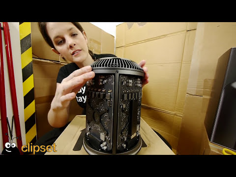 Apple nuevo Mac Pro unboxing