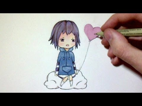 Comment dessiner un chibi d 39 animation manga tutoriel youtube - Dessiner un manga facilement ...