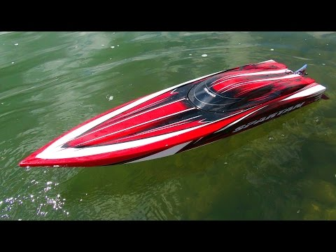 RC ADVENTURES - Traxxas Spartan - 6S Lipo Speed Runs - Radio Control Boat
