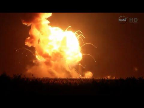 Explota Antares, el cohete de la NASA [VIDEO COMPLETO]