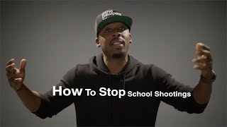 NRA Spokesman Colion Noir Explains How To STOP School Shootings