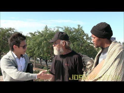 Homeless Veteran Gives Back!