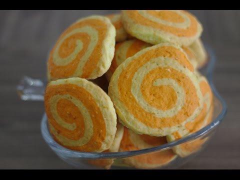 """Печенье """"Апельсиновые колёсики"""" (Домашний кулинар)"""