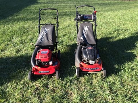 Snapper Lawn Mower Review Cold Start Big 6 Ninja.  Easy Speed Model RP21600 P216012 - Feb. 13. 2016