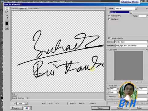 scan chữ ký cho văn bản, giấy mời, scan a signature for Word