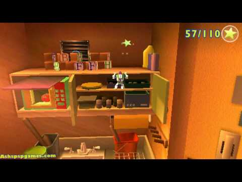 Toy Story 3 - PSP - #05. Trouble In The Caterpillar Room
