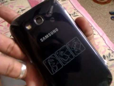 Samsung Galaxy grand unboxing (metallic blue)