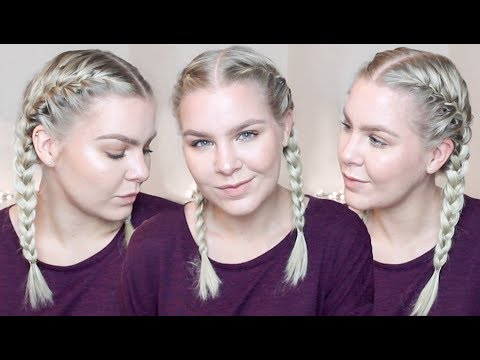 How To French Braid Your Own Hair For Beginners   EverydayHairInspiration