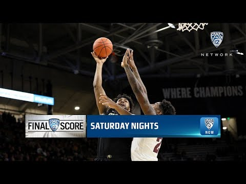 Highlights: Colorado men's basketball edges Arizona State for fourth straight win