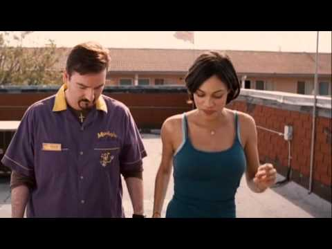 Rosario Dawson in tight tank top: Clerks II - Remixed for Hotness