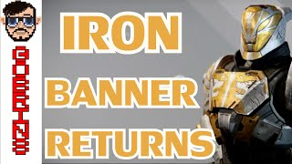 DESTINY IRON BANNER RETURNS - Iron Banner Weapons, Armour, Shaders and Emblems from Lord SALAD!