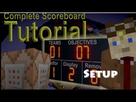 How To setup the Scoreboard in Minecraft