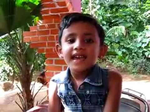 Baghdad Kavitha. By An Lkg Kid video