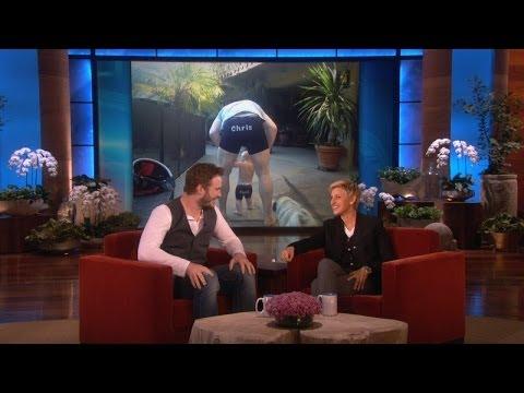 Chris Pratt's Whole Family Loves Ellen Underwear