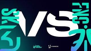 LEC 2019 - SK vs FNC - W5 D2