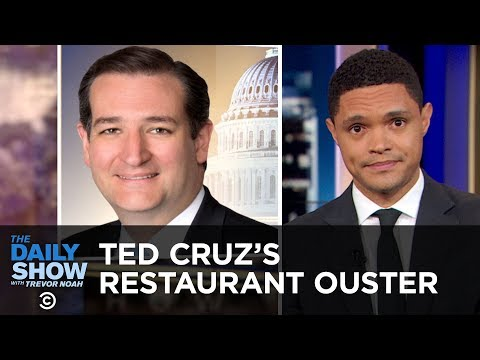 Ted Cruz's Restaurant Ouster & Nelson Mandela's U.N. Statue | The Daily Show