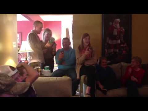 Collins family Christmas song