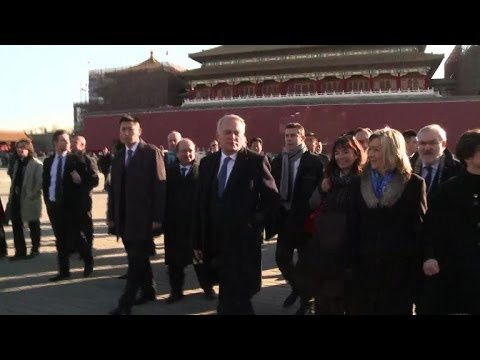Jean-Marc Ayrault en Chine