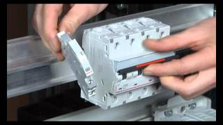 Legrand - Installation Guide - Auxiliary Contact mounting on DX3 High Performance MCB