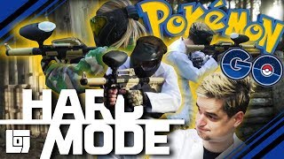 POKÉMON GO IN EEN PAINTBALL GEVECHT met Don en Jeremy | HARD MODE | LOG