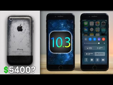I Paid $5400 For an Old iPhone! iOS 10.3 Theatre Mode & More Apple News