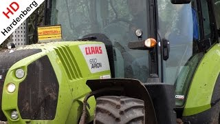 NEW CLAAS ARION 640 & 650 | Various fragments | Mud | The Netherlands.