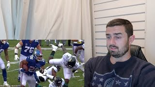 Rugby Fan Reacts to SAQUON BARKLEY 2018 Mid Season Highlights