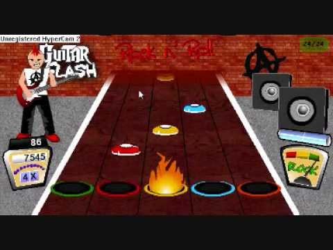 Iron Man Hard 97% - Black Sabbath - Guitar Hero Online