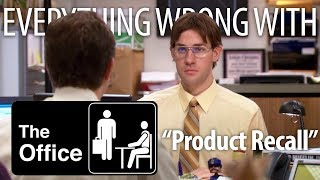 "Everything Wrong With The Office ""Product Recall"""