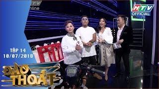 HTV ĐÀO THOÁT | Nhạc sĩ Nguyễn Văn Chung quyết đem quà về cho vợ | DT #14 FULL | 10/7/2018