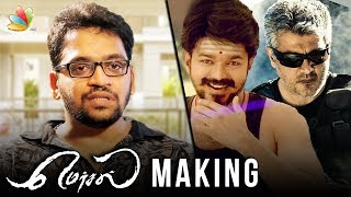 Vijay's Mersal Trailer cancelled to avoid clash with Vivegam : Editor Ruben Interview | Making