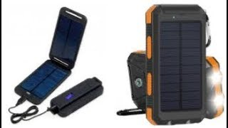Reviews: Best Solar Charger 2018