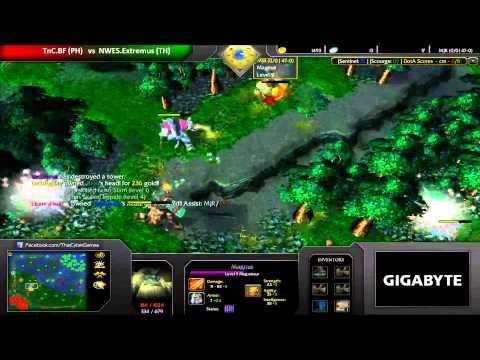 CGnetworkTV GEST IDC July 2013 - TnC.BF vs NWES.Extremus
