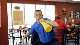 """Restaurant Owner Tim Harris: """"I Have Down Syndrome. I Am Awesome."""""""