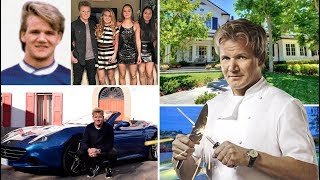 Gordon Ramsay || Net Worth - House - Cars - Income - Family - Bio - Childhood - 2017
