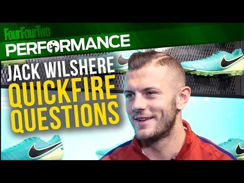Jack Wilshere: Quickfire questions