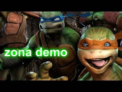 Zona demo - Teenage Mutant Ninja Turtles - desde las sombras