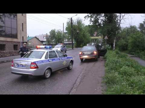 Пьяный ученик автошколы устроил ДТП ул. Блюхера. Место происшествия 21.06.2017