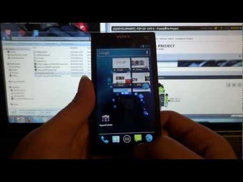 Обзор Sony Xperia Ion на Android 4.0.4 Ice Cream Sandwich ...