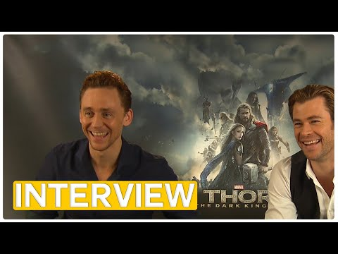 Thor 2 | Chris Hemsworth & Tom Hiddleston EXCLUSIVE Interview (2013) & Gewinnspiel